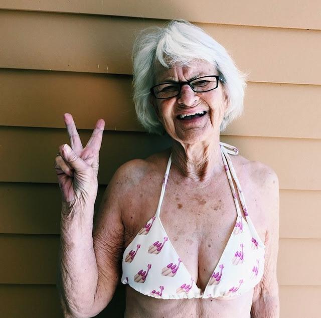 nenek paling gaul dan funky se jagad-13
