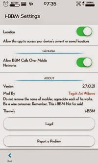 ibbm settings