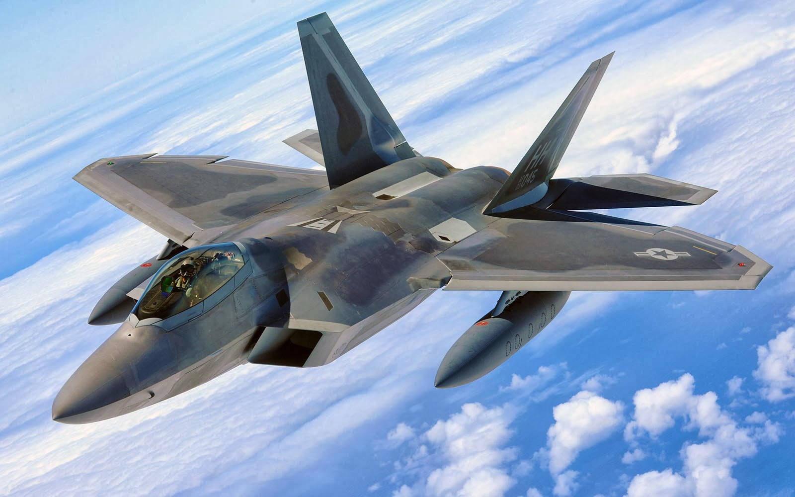 94 Lockheed Martin F-22 Raptor HD Wallpapers   Backgrounds ...
