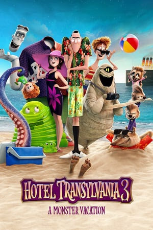Poster Of Hotel Transylvania 3: Summer Vacation In Dual Audio Hindi English 300MB Compressed Small Size Pc Movie Free Download Only At gimmesomestyleblog.com