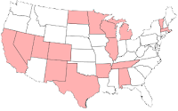 Completed States Map