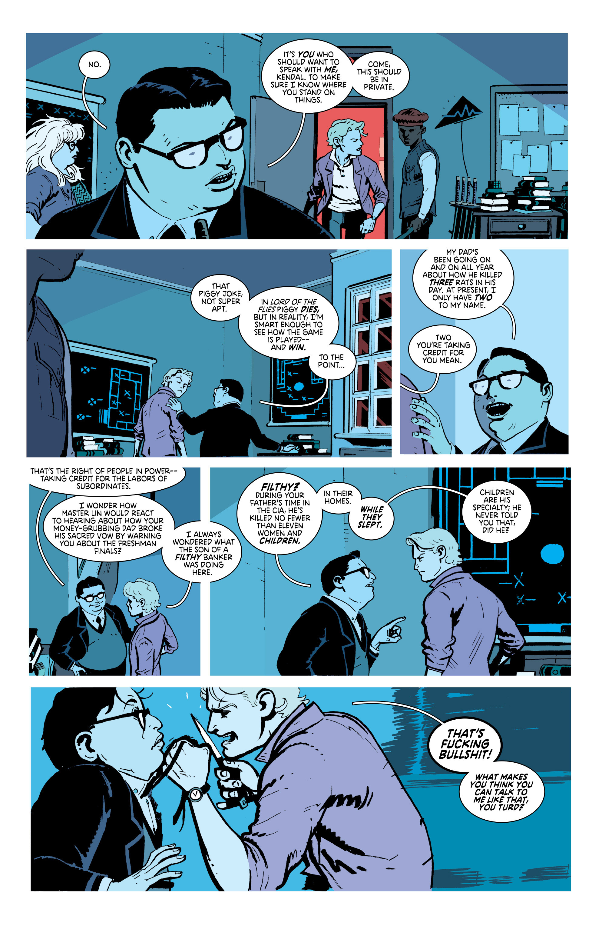 Read online Deadly Class comic -  Issue #18 - 7