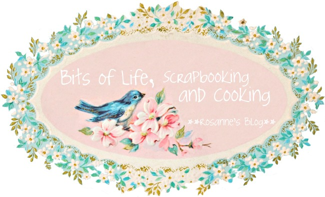 Bits of Life, Scrapbooking and Cooking