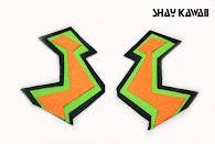 """ZIG ZAG"" EARRINGS"