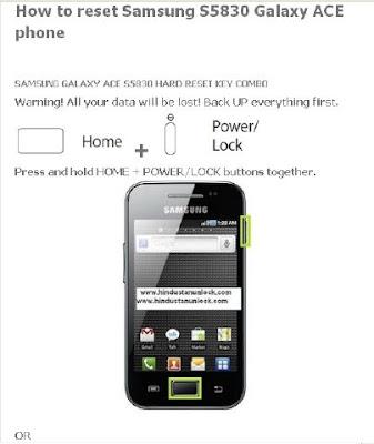 Hard Reset Samsung Windows Phone 8