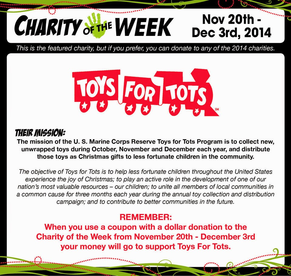 Toys For Tots Ideas : Crafts direct new charity of the week toys for tots