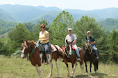 Horseback Riding on a ranch near Asheville