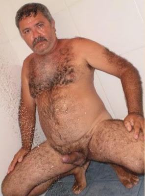 Nude Hairy Turkish Bear Men