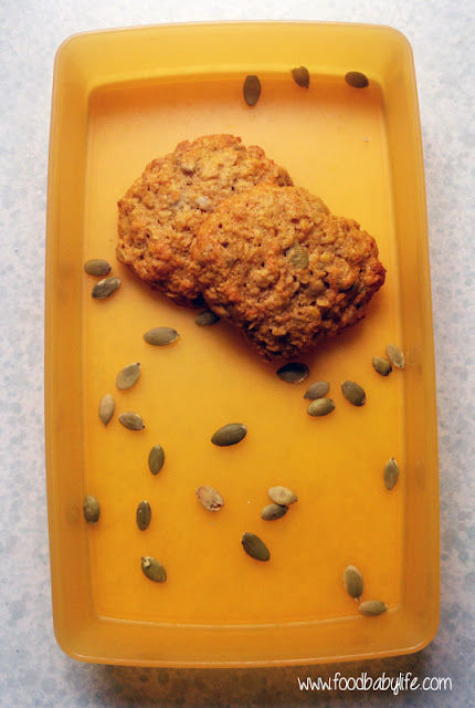 Carrot and Seed Cookies © www.foodbabylife.com