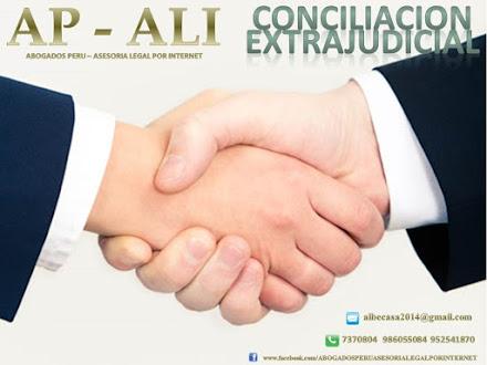 CONCILIACIÓN EXTRAJUDICIAL, PROCESO JUDICIAL DE CONCILIACIÓN, CENTRO DE CONCILIACIÓN, AUDIENCIA CON