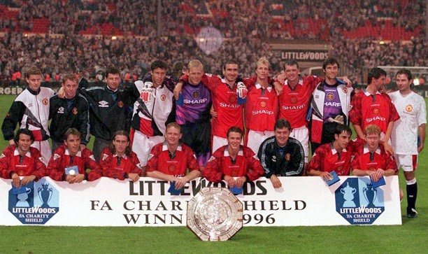 1996 Charity Shield Winners Manchester United