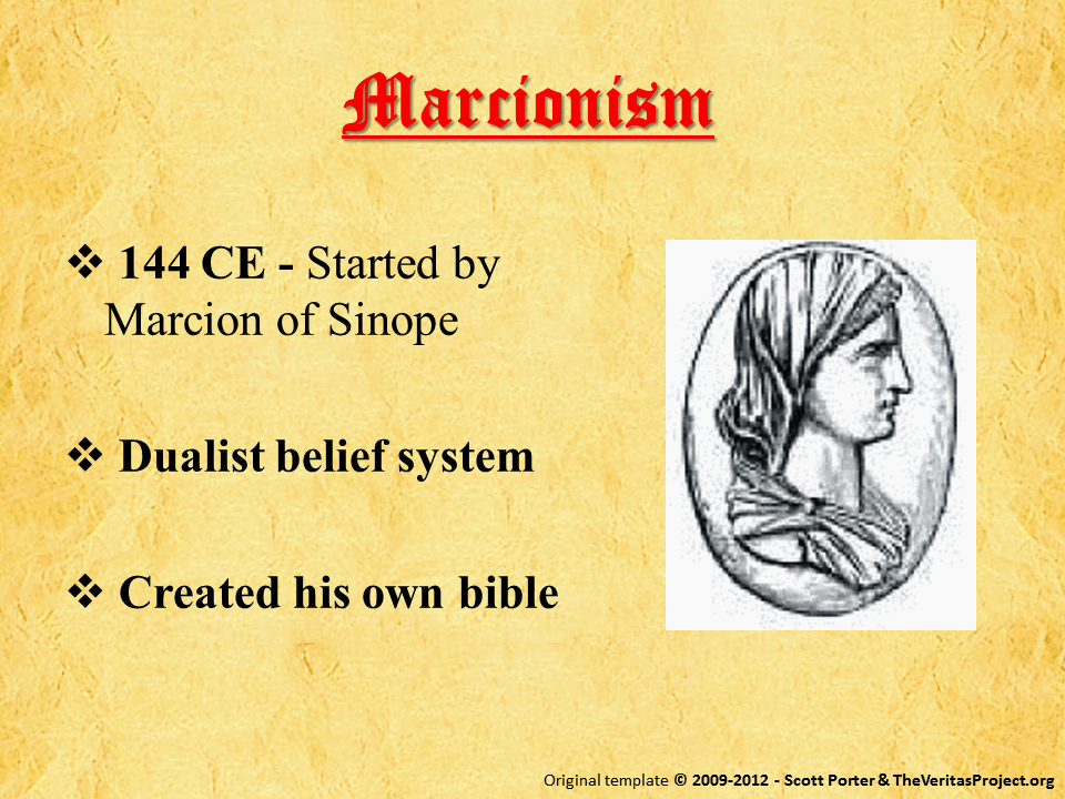 a biography of marcion of sinope an early christian leader List of founders of religious traditions  marcion of sinope: marcionism: pontic greek:  early 15th century: john calvin.