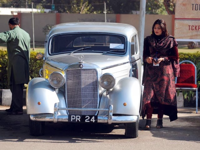 Old car exhibition from Karachi to Peshawer.