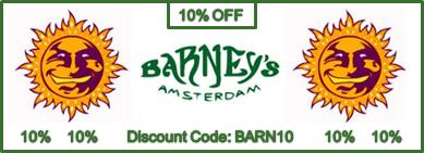Barneys Farm Seeds 10% Discounted