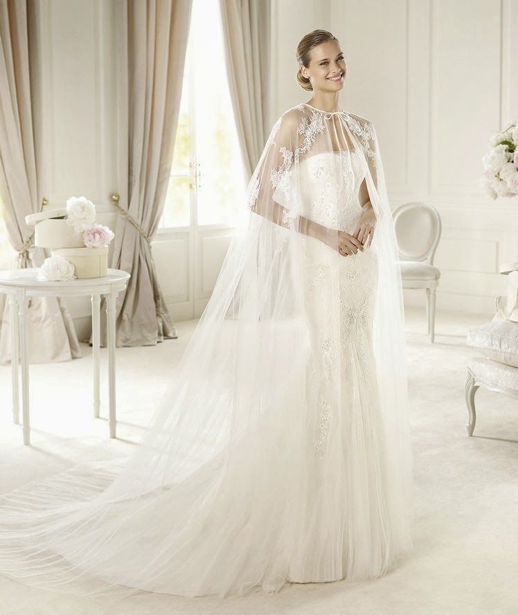 Wedding Cape: My Wedding Dress: Chic Wedding Dresses With Capes