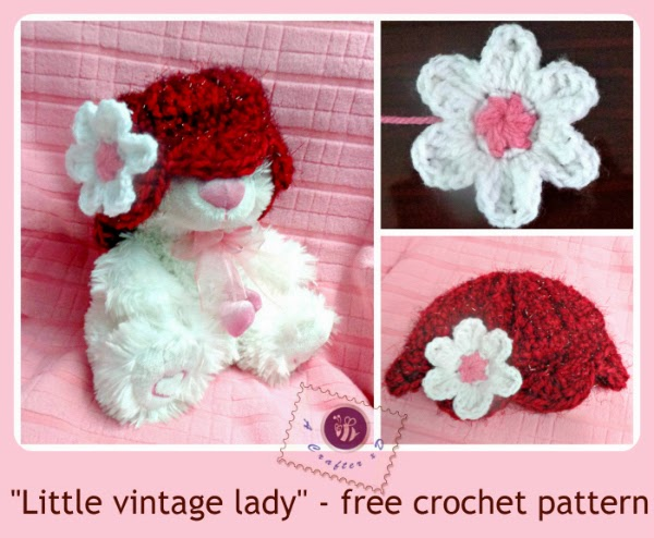 Free Crochet Vintage Baby Hat Patterns : Be A Crafter xD:
