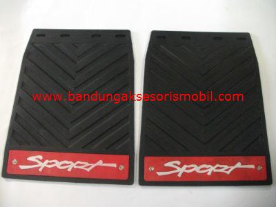 Mudguard Exclusive Minibus Sport Merah