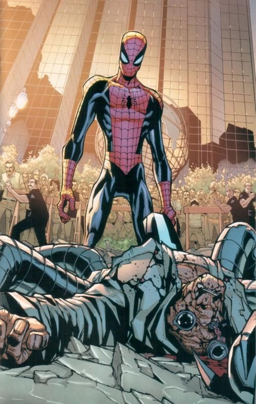 Peter Parker muere como Dr Pulpo