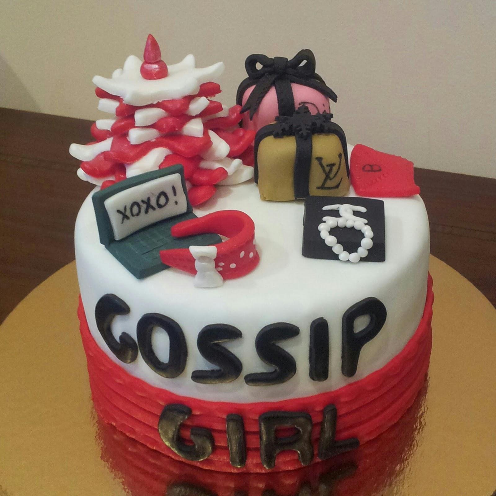 Gossip Girl Nuskis Cakes