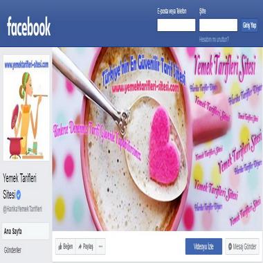 facebook com - yemektarifleri sitesi