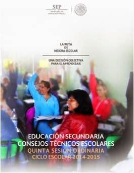 MATERIAL QUINTA  SESIÓN CONSEJO TÉCNICO ESCOLAR