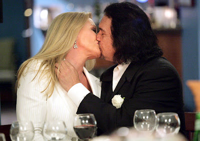 Gene Simmons, Shannon Tweed, Wedding