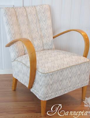 Hvordan trekke om stol
