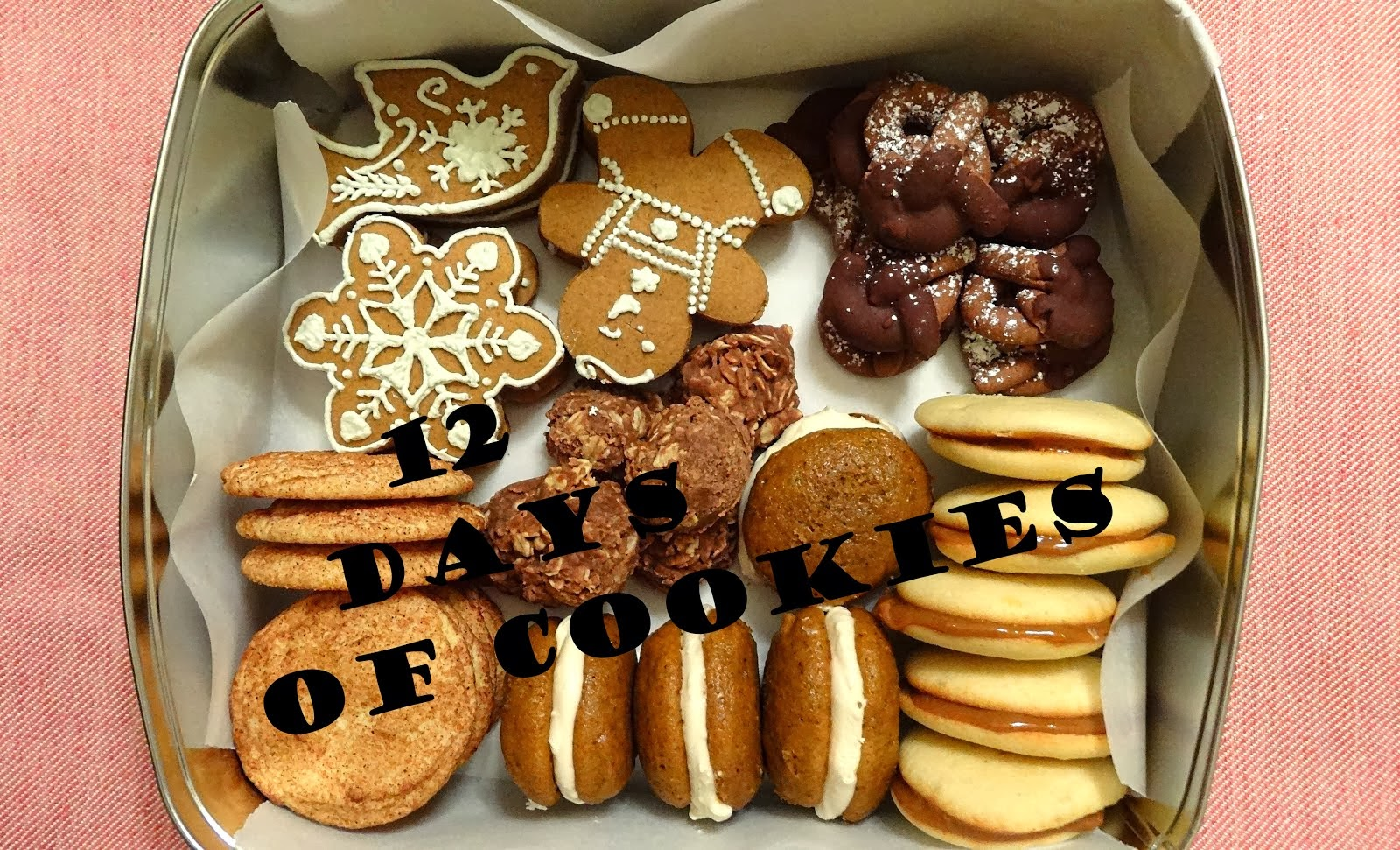 12 Days of Cookies 2013