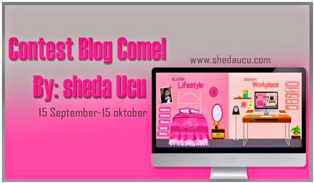 Contest Blog Comel By : Sheda Ucu