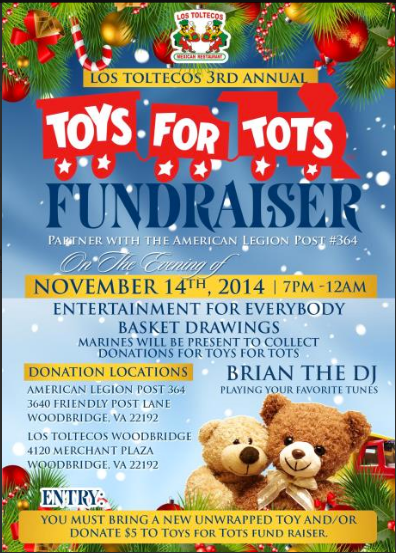 Toys For Tots Raffle : The van norman team northern virginia real estate news