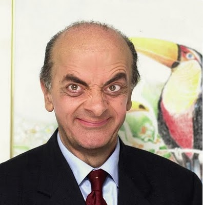 Face Mr. Bean Serra