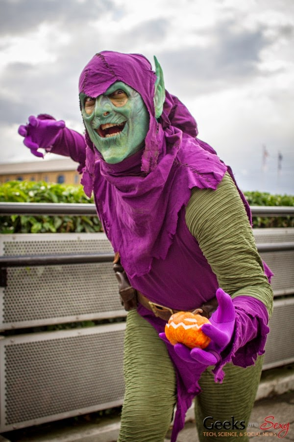 Зеленый Гоблин cosplay