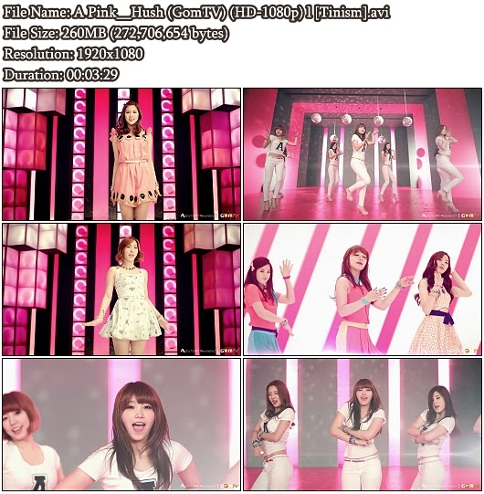 MV A Pink - Hush (GomTV Full HD 1080p)