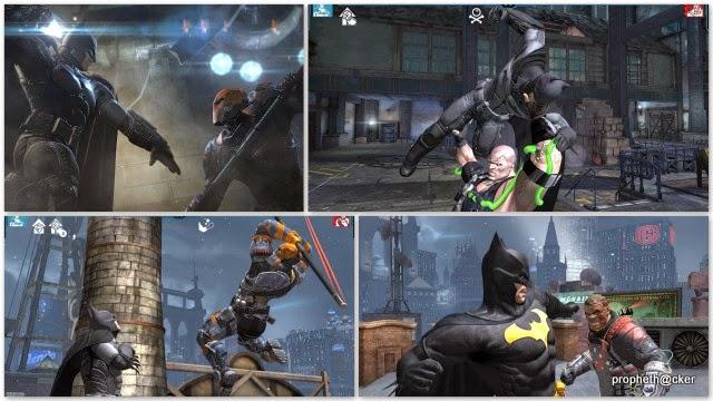 batman origins android app