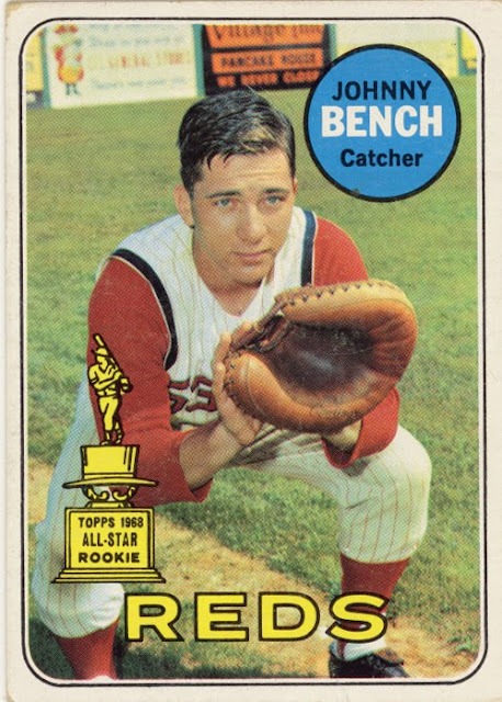 1969 Topps Johnny Bench