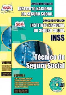 Apostila Concursos INSS para Técnico do Seguro Social Edital 2015