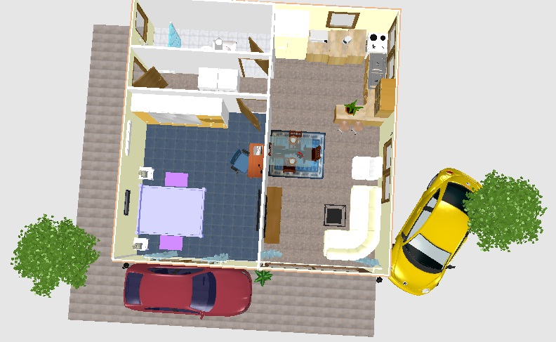 Me acharam sweet home 3d for Mobilia 3d para sweet home