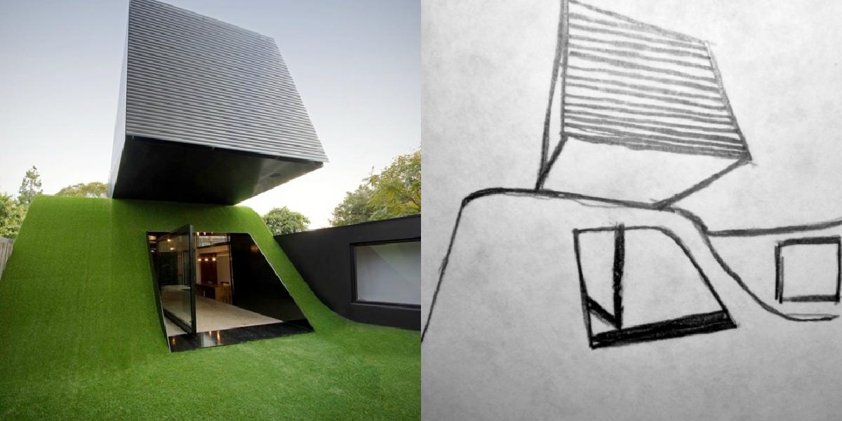Bosquejos a mano alzada for Obra arquitectonica definicion