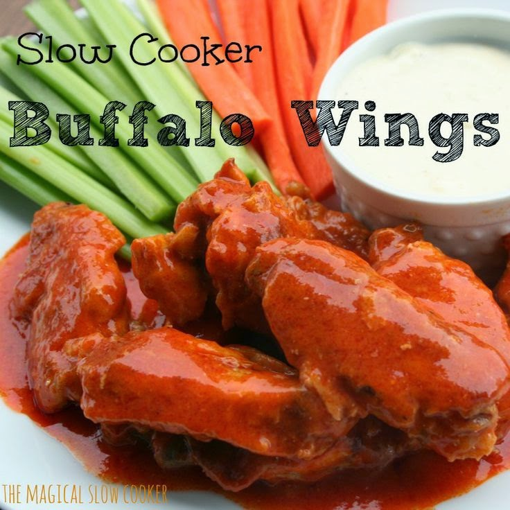 http://www.themagicalslowcooker.com/2014/01/16/slow-cooker-buffalo-wings/