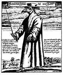 """Plague Doctor"" with Bird's Mask"