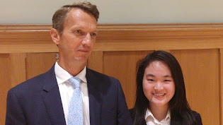 Andy Haldane at Epsom College