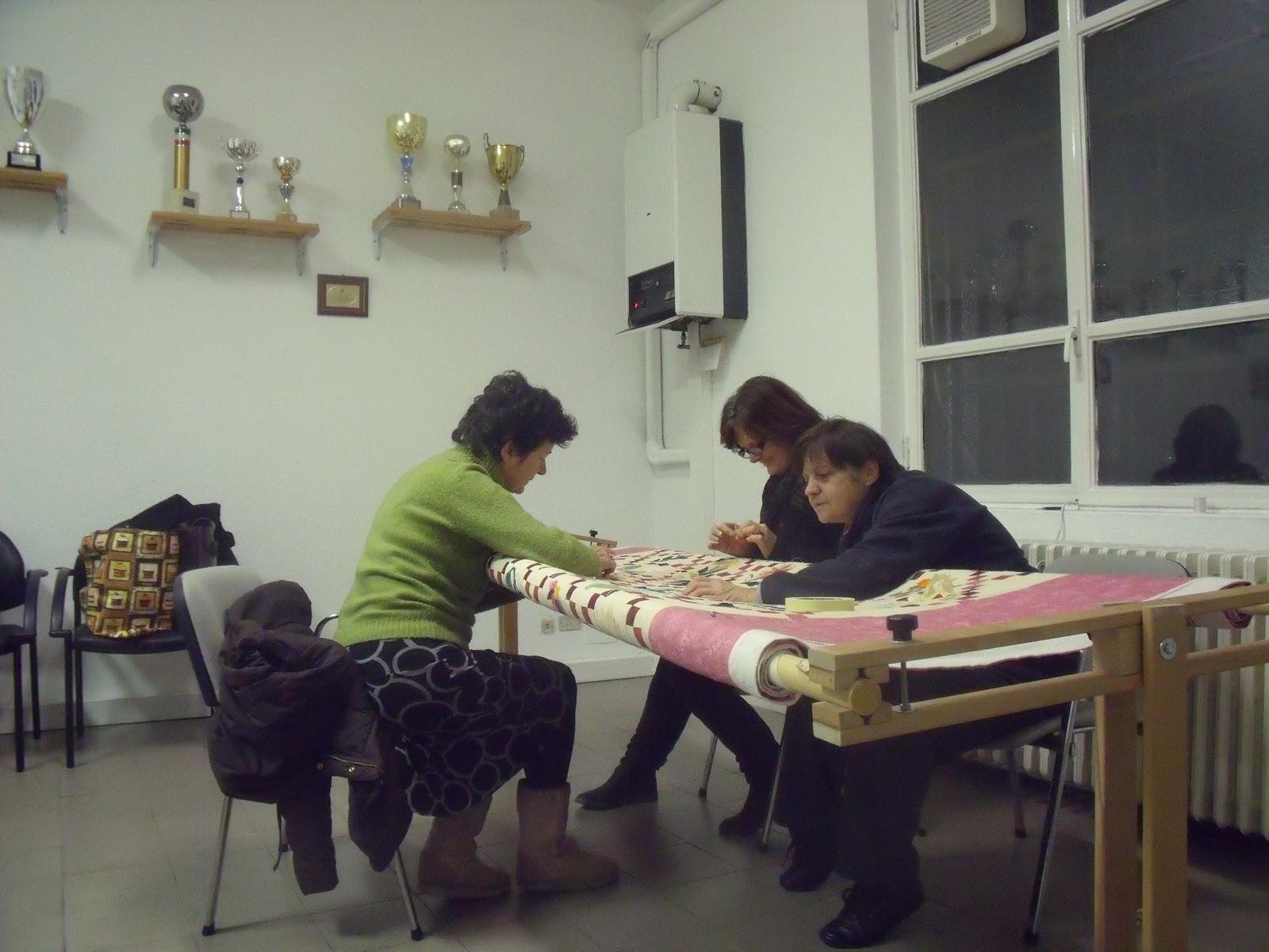 Il castello di stoffa coperta elba sul telaio for Piccoli piani di coperta