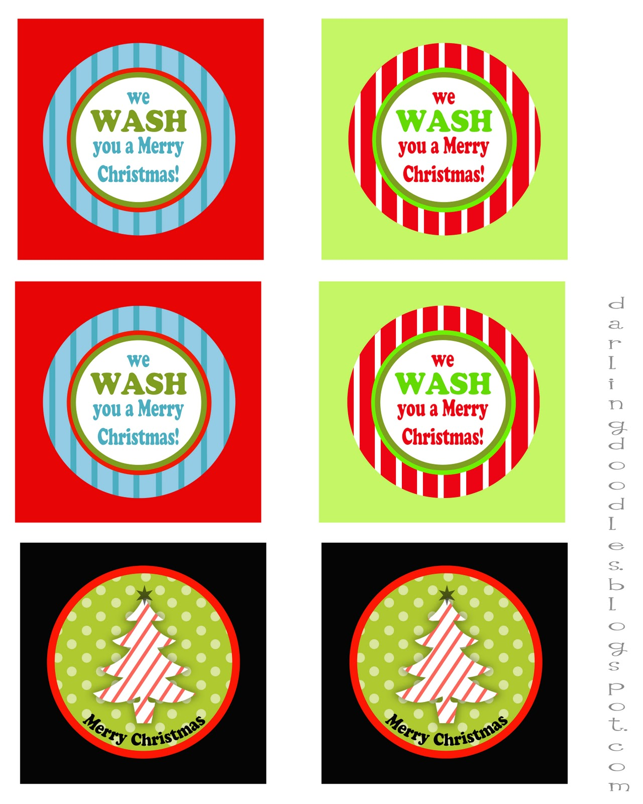 12 days of gift mas gift 1 darling doodles - 12 Days Of Christmas For Neighbors