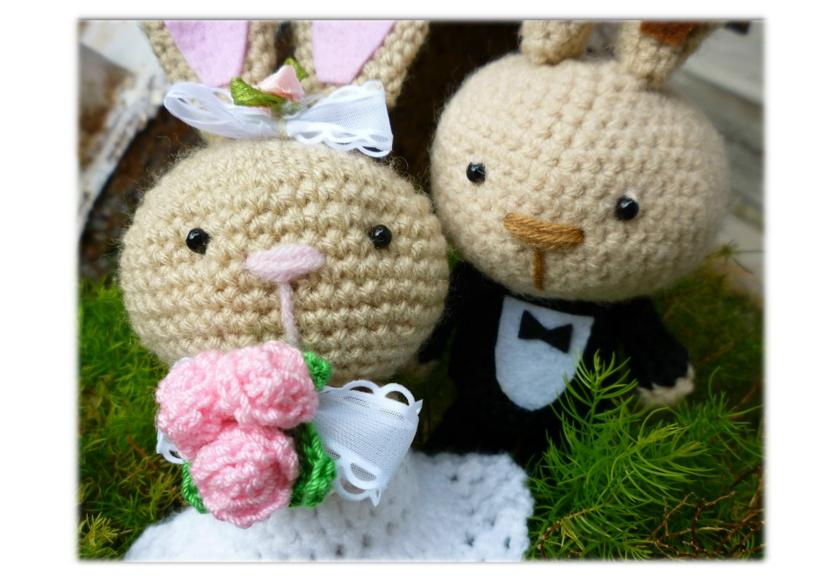 Joy For Craft: Wedding Bunny