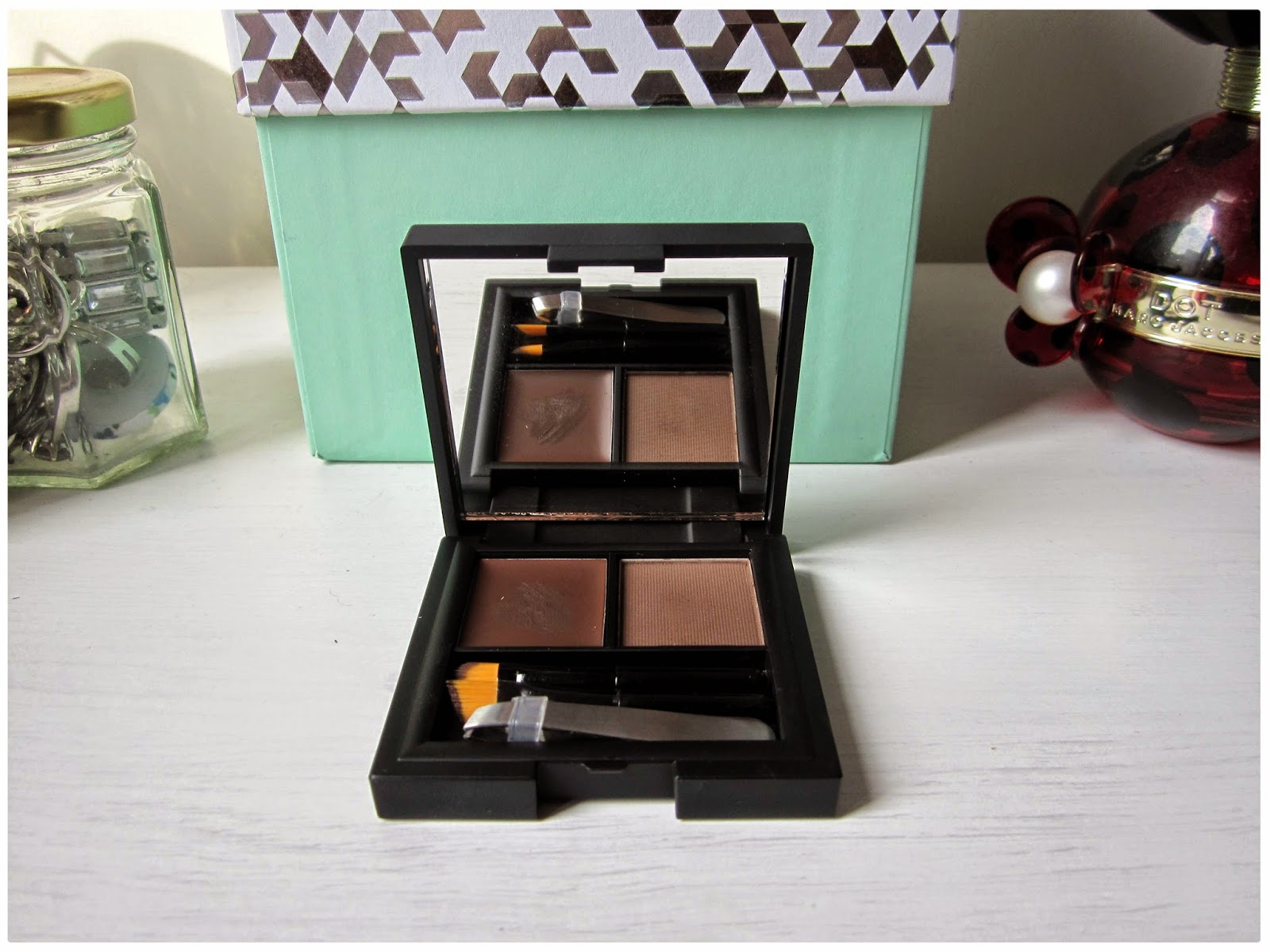 Sleek Brow Kit Review In Dark Brown | Smock To Frock