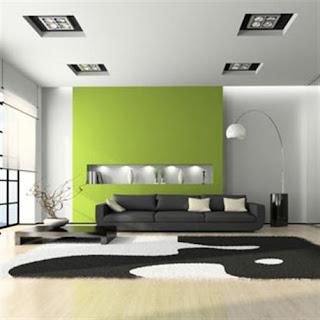 Verde limão cores para sala