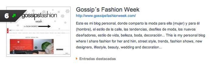 blog mas influyente de españa olga gigirey gossipsfashionweek gossip fashion week