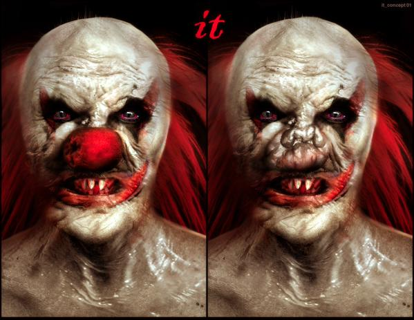 Arte conceptual del remake de 'IT'