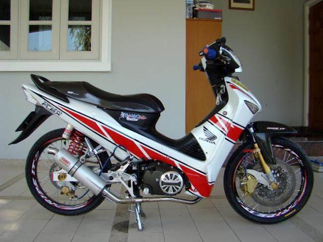 Modifikasi Motor Honda Supra X 125 title=