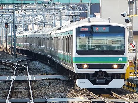 常磐線快速 取手行き E231系